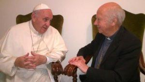 Le Pape François reçoit Jacques Gaillot